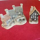 David Winters Buildings~Lot of 2~Miners Row 1987 Midlands Col.~Spinners Cottage