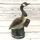 Lord Calvert Canadian Whiskey Canadian Goose Decanter 1977 First In Series