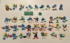 Vintage Smurfs Lot Of 37 Figures! PEYO 60s, 70s, 80s. SCHLEICH Some RARE! Read!!