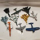 Lot of 10 MAISTO Tailwinds and DIECAST USAF NAVY Military Planes Jets