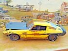 118 Scale Diecast Custom Weathered  RustedYellow 1970 Baldwin Motion Camaro