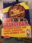 1988-89 FLEER BASKETBALL 36Ct Gum Pack WAX BOX SOLD AS IS Possibly Searched