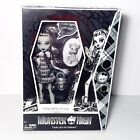 Monster High SDCC Exclusive Black White Frankie Stein Doll Mattel NEW VERY RARE