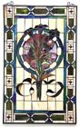 32 Tiffany Style Floral Tulip Stained Glass Window Panel