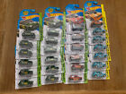 Hot Wheels Morris Mini Lot Of 25 Cars Blue Red Green Orange