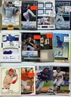 PREMIUM 1,000 CARD PATCH AUTO JERSEY ROOKIE MLB BASEBALL CARD COLLECTION LOT $$