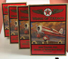 Set of 4 Wings of Texaco 1930 Travel Air Model R Mystery Ship No 13 Airplanes