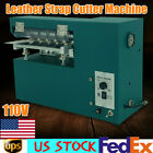 110V Leather Strap Cutter Slitting machine Shoes Bags Slitter Blade 1600rpm 60W