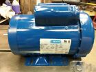 LEESON 15 HP SINGLE PHASE ELECTRIC MOTOR