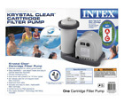 Intex 1500 GPH Krystal Clear Cartridge Filter Pump for Above Ground Pool