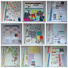 Huge Scrapbook Kit Lot Amy Tangerine Crate Paper Simple Stories  Many More