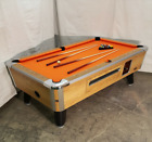 VALLEY COUGAR COMM BAR SIZE 7 COIN OP POOL TABLE ZD 6 REFURBISHED IN ORANGE