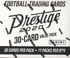 2020 PANINI PRESTIGE FOOTBALL CARDS FACTORY SEALED 12 PACK FAT PACK BOX NFL