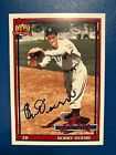 2016 Topps Archives Bobby Doerr #251 Auto Autograph 1991 Red Sox Card Design