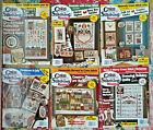 Lot of 6 Cross Country Stitching Magazine 2004 Feb April June Aug Oct Dec