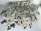 LOT OF 379 CARDS WELL OVER 700 VINTAGE SEWING NAVY BLU BUTTONS ON ORIGINAL CARD