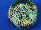 PERTHSHIRE PAPERWEIGHTS PP5 1996 Snooker triangle in centre Translucent green