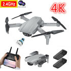 2021 Drone 4K Dual Camera for Adults Beginners Kids Quadcopter Aircraft Toy Gift