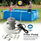 Electric Swimming Pool Filter Pump Water Cleaning Tool Above Ground Pool C