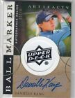 2021 SP Game Used Golf Cards - Checklist Added 25