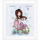 Vervaco Counted Cross Stitch Kit Gorjuss Nice To Sea You
