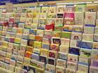 Closeout Lot Of 200 Assorted Greeting Cards Birthday Friendship NO Envelopes