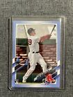 2021 Topps Bobby Dalbec 32 50 Fathers Day Baby Blue Border Boston Red Sox 26