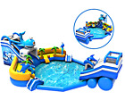 50x50x20 Commercial Inflatable Water Slide Bounce House Castle We Finance 100