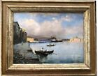 Oil on panel View of Istambul Louis Comfort Tiffany