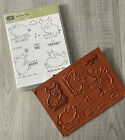 Stampin Up This Little Piggy Red Rubber Stamp Great Condition Rare