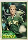 Larry Bird Rookie Cards and Autographed Memorabilia Guide 35
