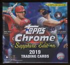 2019 Topps Chrome Sapphire Box New Factory Sealed Unopened Online Exclusive