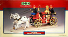 Lemax Village Volunteers Horse Drawn Fire Wagon 03332 Christmas Accessory