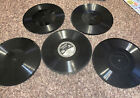 Five Thick Edison Phonograph Records