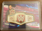 Surprise Ronda Rousey Autograph Cards, Belts in 2013 Topps UFC Knockout 10