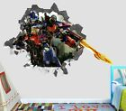 Transformers Optimus wall decals stickers mural home decor for bedroom Art OP09