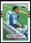 Barry Sanders 1989 Topps Traded Rookie Card #83T RC Mint Condition Pack Fresh