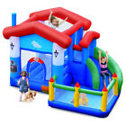 Kids Inflatable Bounce House Jump Bouncer Slide Castle Ball Pit Without Blower