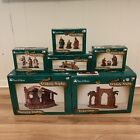 VTG KMART TRIM A HOME O Holy Night LOT Nativity Manger 3 King with Accessories