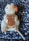 Ty Beanie Baby - STIRRING the Mouse (Gingerbread 12-26-2006-2007 PE Plastic Pell