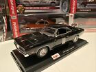 1969 DODGE CHARGER R T BLACK 118 SCALE DIECAST BY MAISTO New