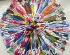 150 Art Silk Rayon Stranded Skeins Embroidery Thread Great Price
