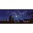 7 Ft X 16 Ft Nativity OHoly Night Christmas Garage Door Decor Mural For Doubl