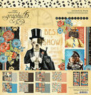 Graphic 45 WELL GROOMED 12x12 Paper  Sticker Collection Pack NEW JULY 21