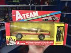 The A-team Galoob Face And Corvette With Box