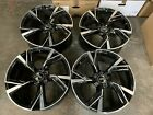 """Used 20"""" Audi 2020 RS6 Style Alloy Wheels 9x20 ET35 Audi A4 A5 A6 +more"""
