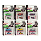 Deluxe 2020 Porsche 911 Carrera S Set of 6 pieces 1 64 Diecast Model Cars by