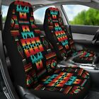 Black Native Tribes Pattern Native American Car Seat Car Accessories Gift for