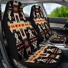 Black Tribe Design Native American Car Seat Covers Car Accessories Gift for He