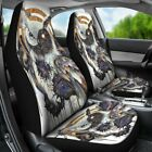 Native Owl Car Seat Covers Car Accessories Gift for Her Custom Seat Covers